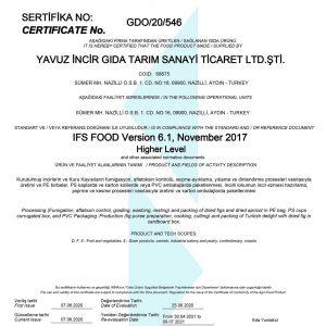 IFS-2020-Certificate